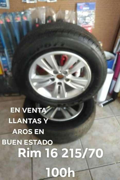 Vendo <strong>llanta</strong>s y aros RIM 16 215/70 100h