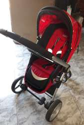 Carrito Kiddy Compass 3 en 1. Impecable.