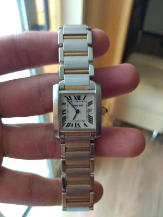 Reloj Cartier Tank Frances Original