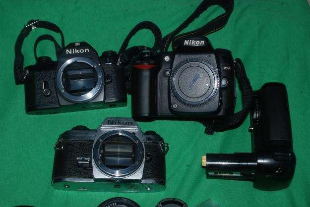 2 Cámaras Nikon