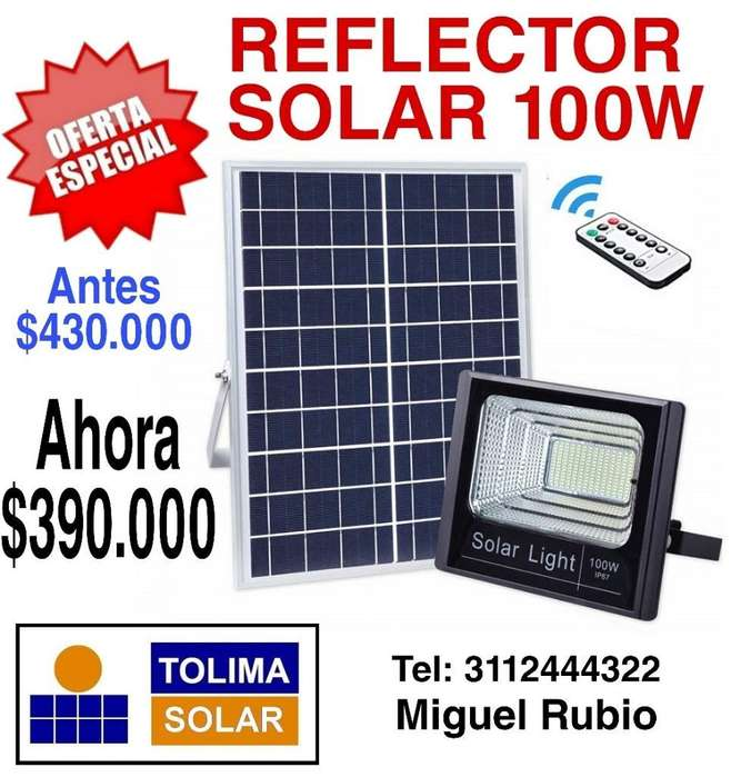 Reflector Solar 100w