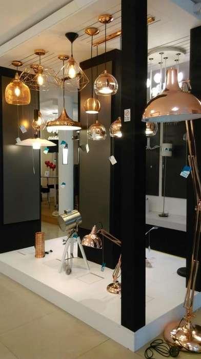 Lamparas Eglo Trujillo Luminarias Decorativas Cristal, Madera, Textil, Acero,