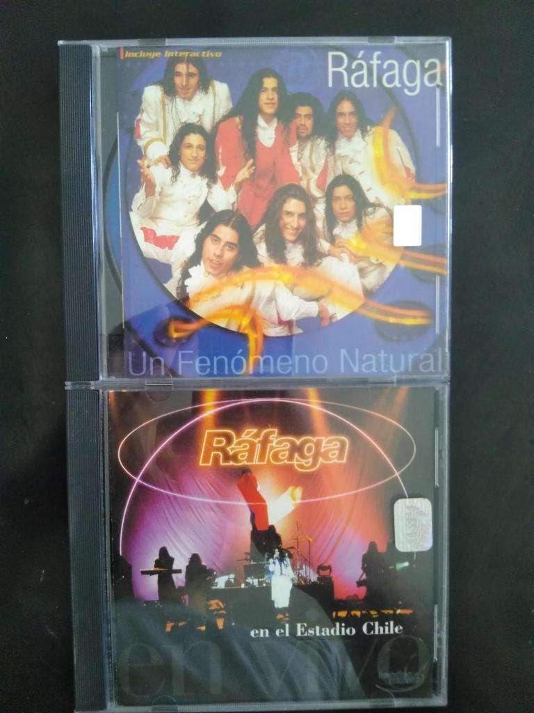 RAFAGA CD NUEVOS Y ORIGINALES