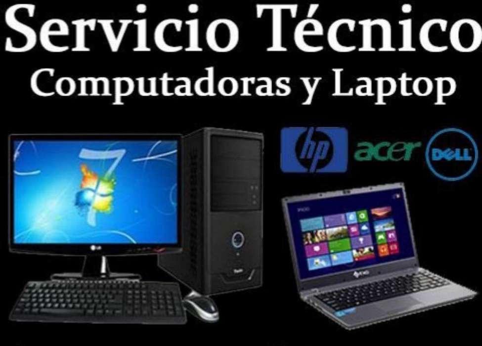 Servicio Técnico de Computadoras a Domic