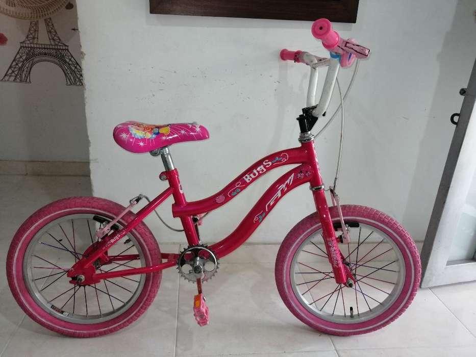 Bicicleta Gw para Niña