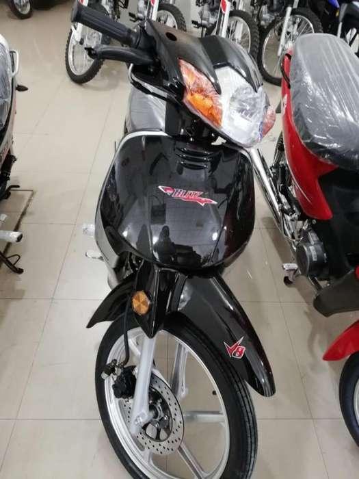 MOTO MOTOMEL BLITZ 110 FULL C/ALARMA 2019 OKM