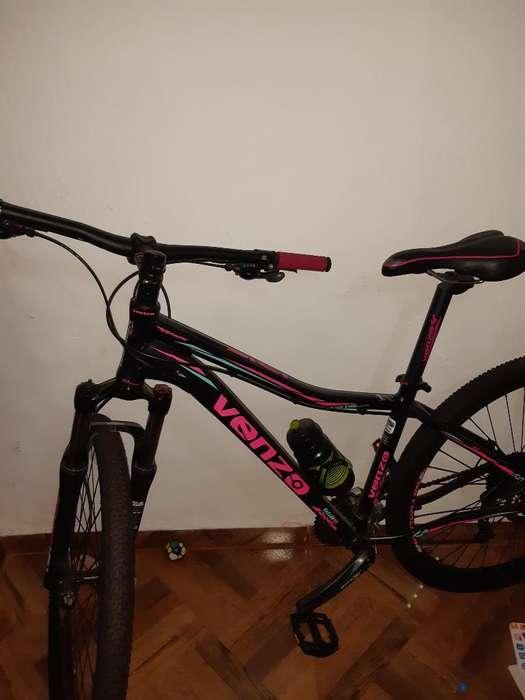 Se Vende Bicicleta Venzo Solo 3 Usadas