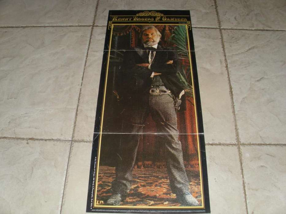 Kenny Rogers Poster The Gambler