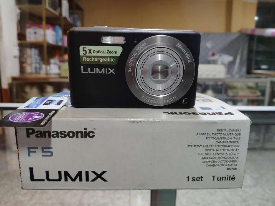Cámara Digital Panasonic Lumix Dmc-f5