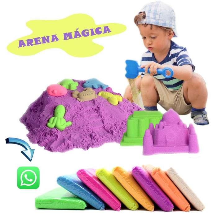 Arena Magica Terapia Niños Bebes Juguete