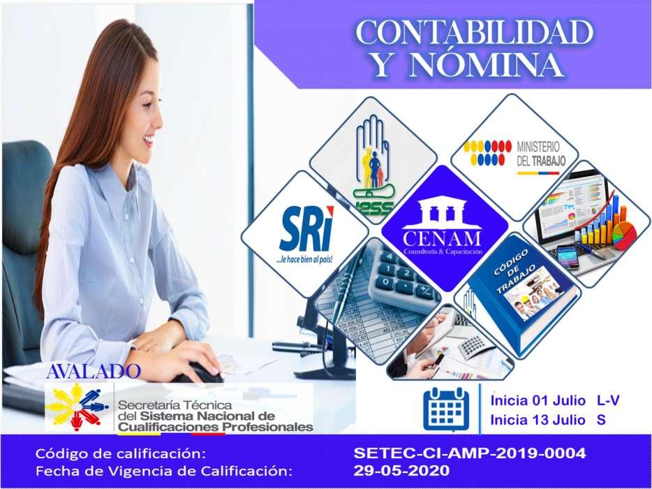 CURSO DE CONTABILIDAD Y NOMINA