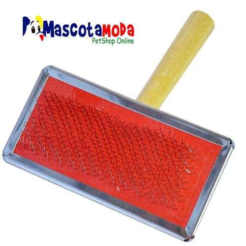 Cepillo cardador para perros varios tamaños y colores limpieza y mantenimiento