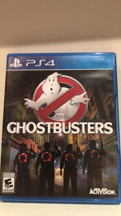 Ps4 Juego Ghostbusters