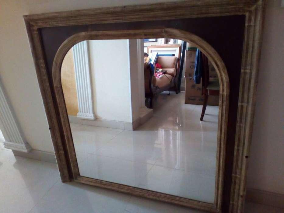 Espejo Importado Marco Cedro 135cm. C 11