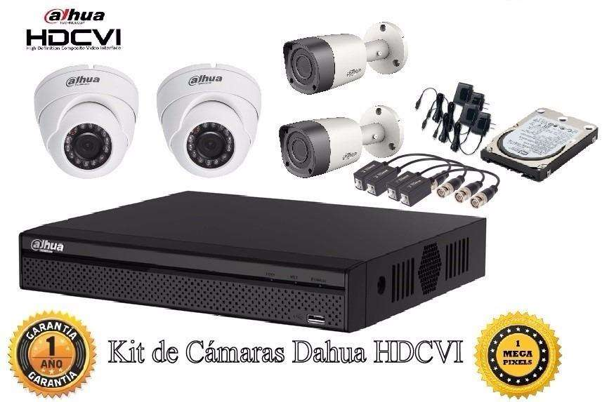 kit de 4 <strong>camaras</strong> full HD 2 mp lta resolucion