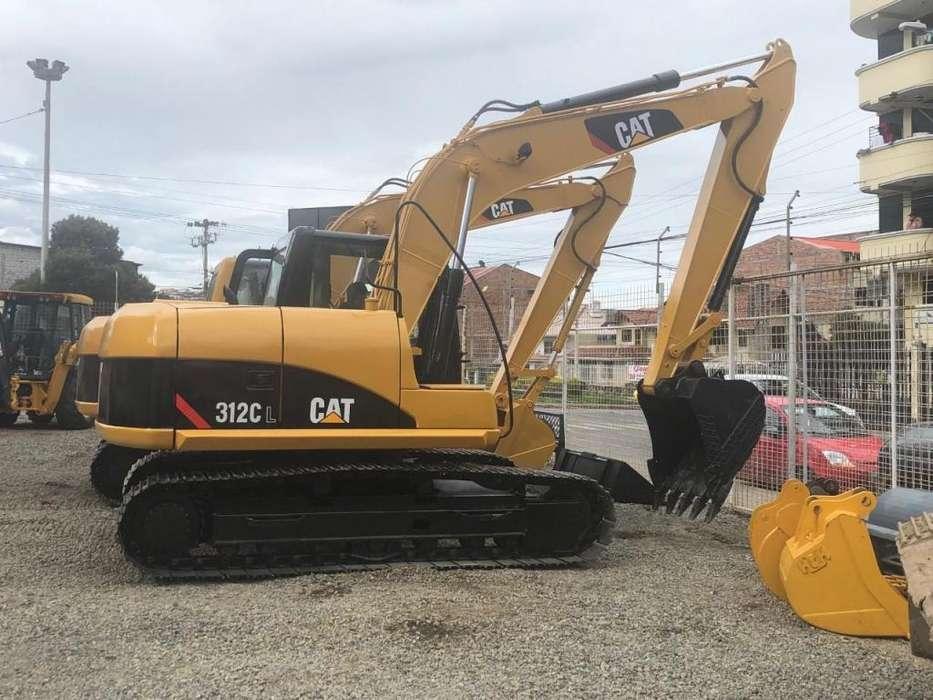 Excavadora CAT 312 CL 2007 Importada