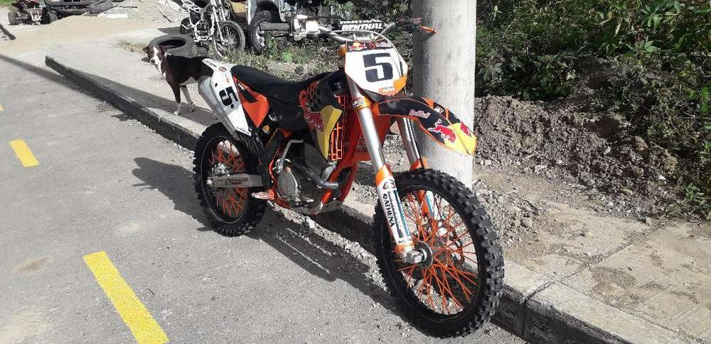 Vendo Moto Ktm 250 Año 2009