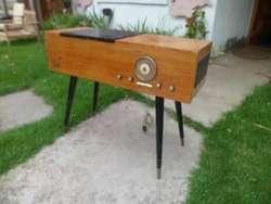 Muy Raro Combinado Philips Diseño art deco Retro Vintage 60s Func