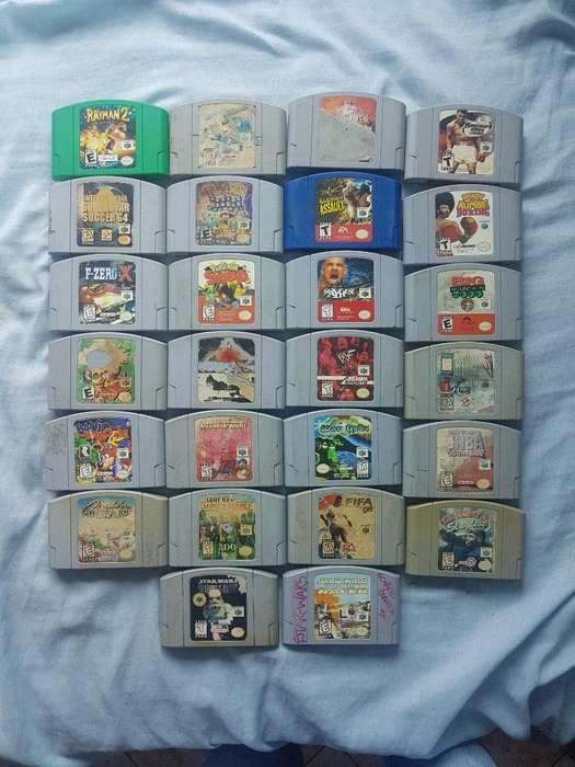 Juegos de Nintendo 64 N64