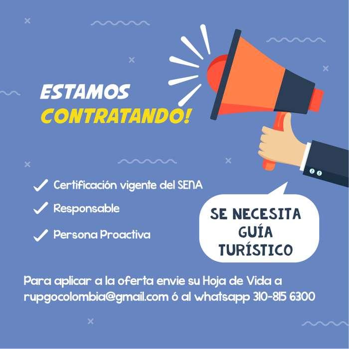 Empresa turística busca guía turístico certificado