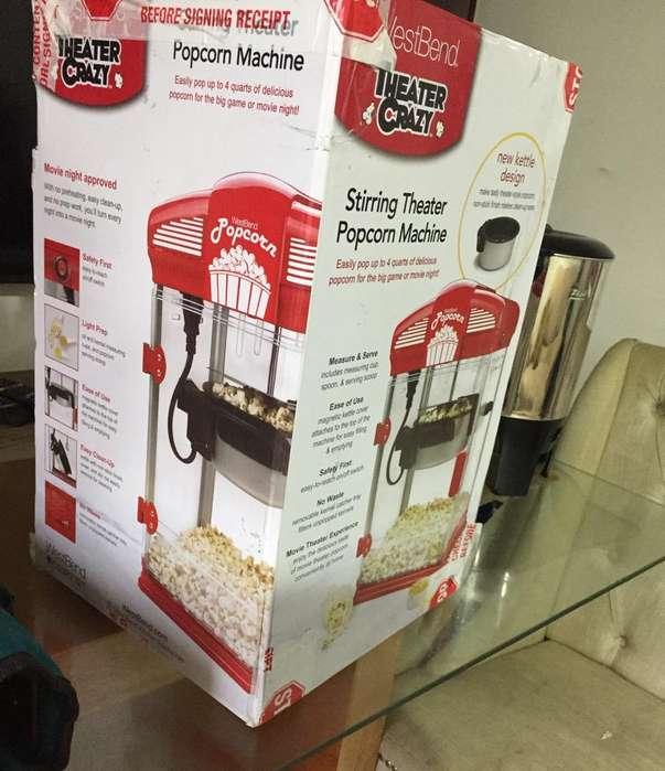 Vendo Maquina de Crispetas Nueva de Caja