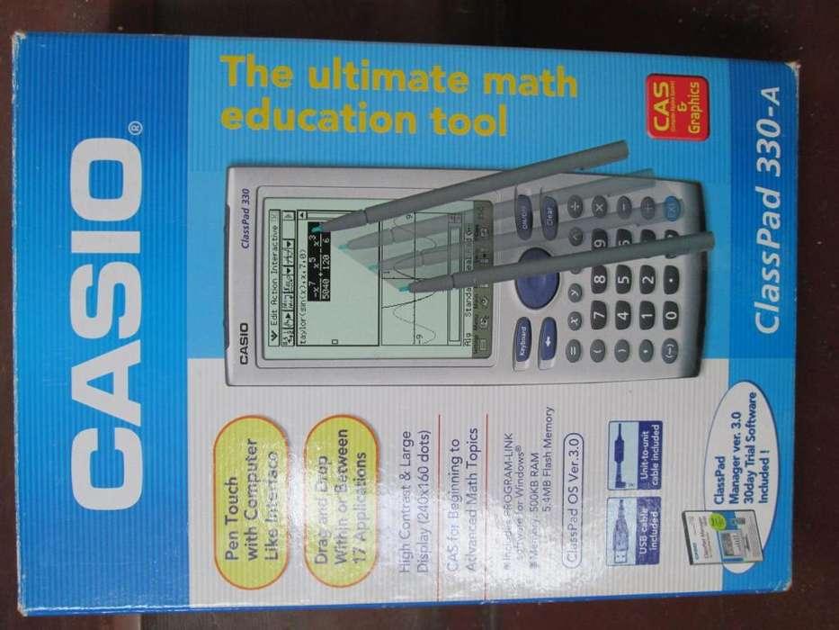 <strong>calculadora</strong> CASIO CLASS PAD 330 EN PERFECTO ESTADO 10/10