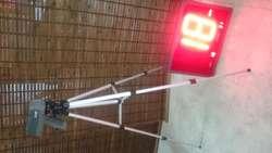 KIT PISTOLA RADAR DE VELOCIDAD  PANTALLA  TRIPODE  Bushnell Speedster III