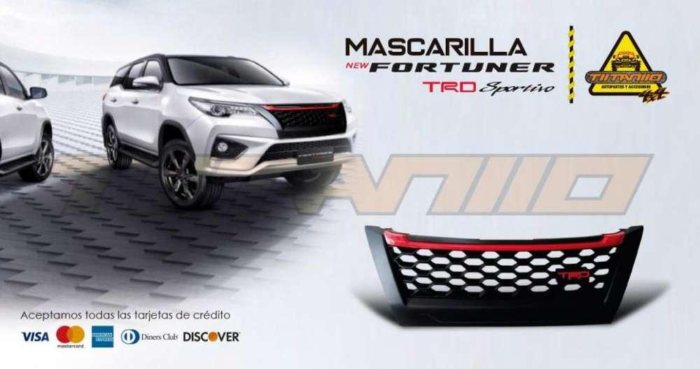Mascarilla TRD New Fortuner