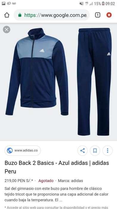 Vendo Conjunto de Buso Marca Adidas