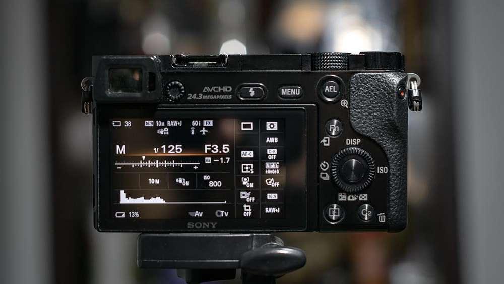 Camara Profesional Sony A6000