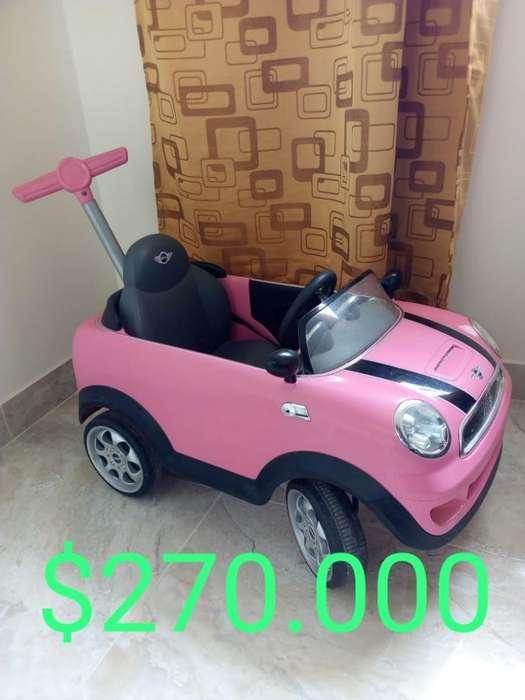 Carro Mini Cooper-paseador-no Bateria