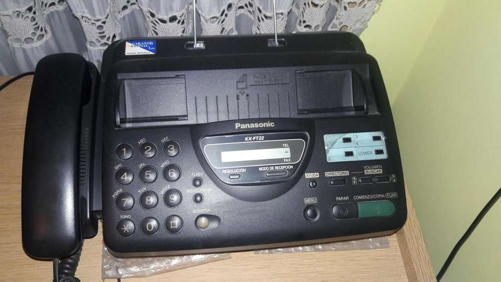 <strong>fax</strong> PANASONIC.