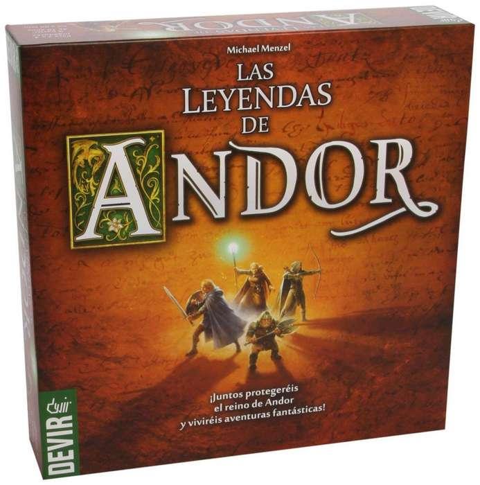 Las Leyendas De Andor - Juego De Mesa - Español