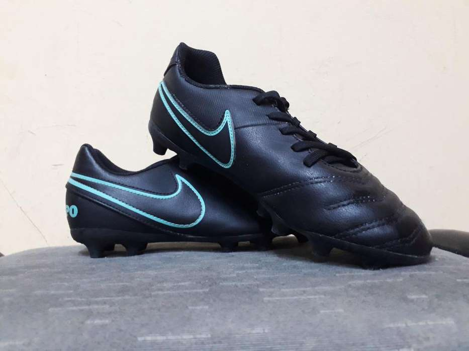 Botines Nike Tiempo Nuevos - Talle 37