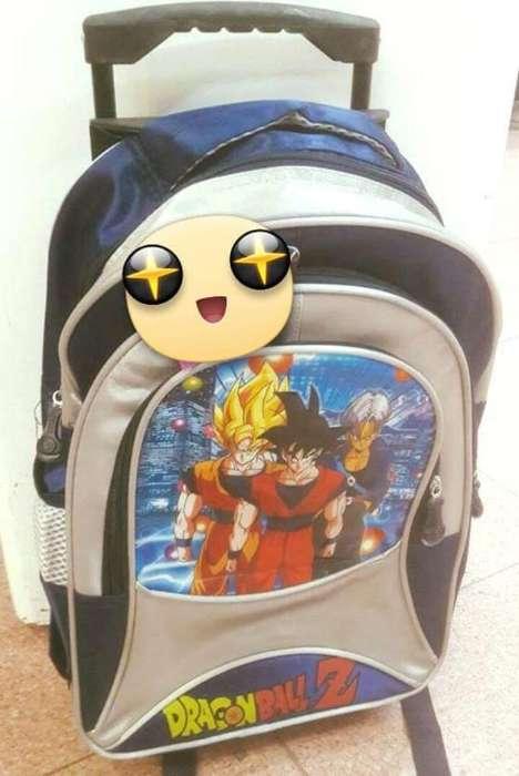 Mochila Dragon Ball con Carro