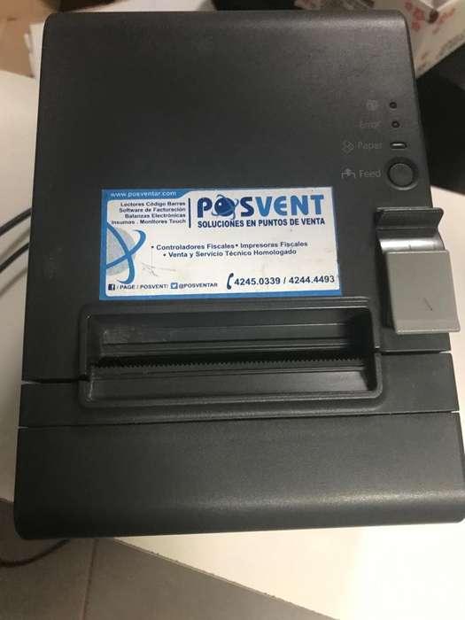 Impresora Epson Termica Tmt20ii Comandera Ticketeadora