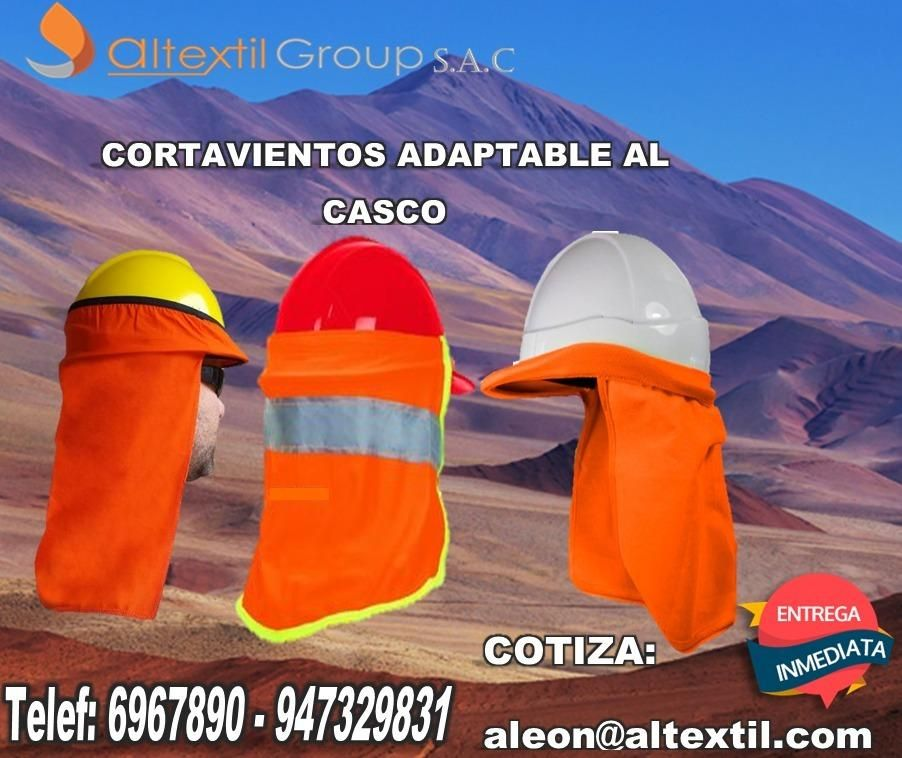 CORTAVIENTOS ANTIFLAMA ADAPTABLE AL CASCO