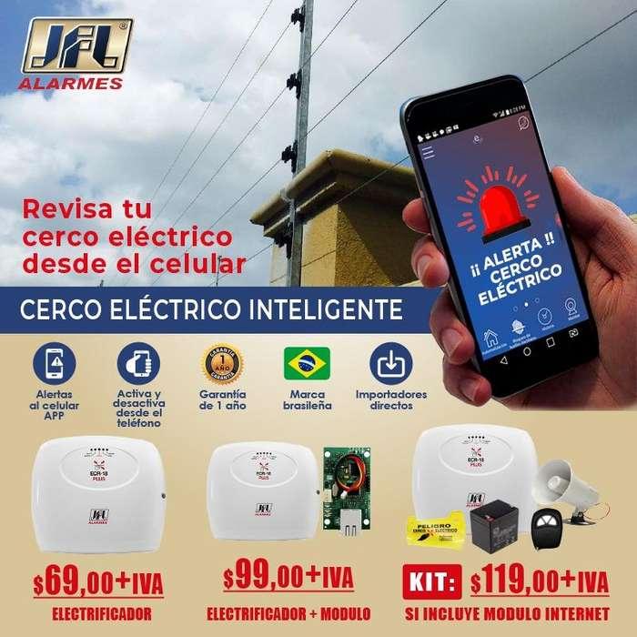 CERCO ELECTRICO INTELIGENTE/JFL/KIT CERCO ELECTRICO/ELECTRIFICADOR JFL