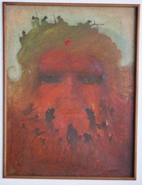 """Vendo Obra de Arte Emblemática El """"Che Guerrillero"""" de Mario Cicerón de 1960"""