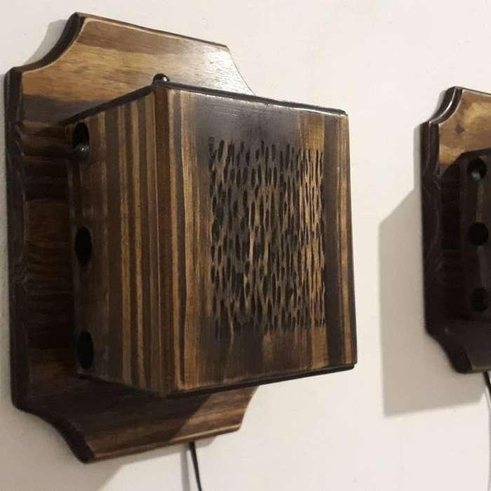 Apliques de Pared Rústico Fabricados Art