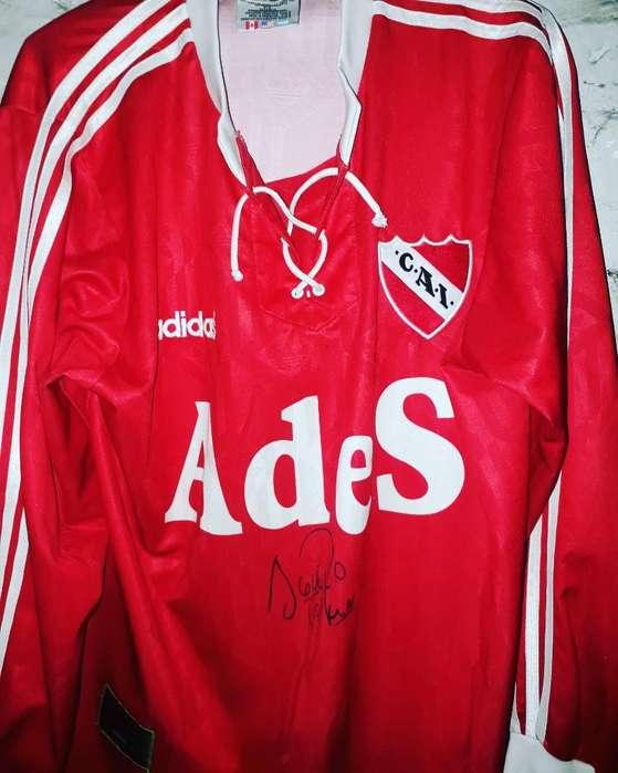 Camiseta Original de El Rojo Firmado