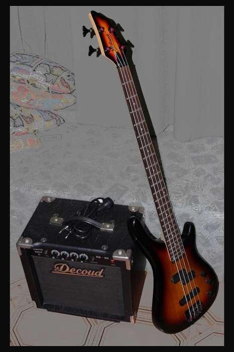 bajo Midland Y Amplificador Decoud Hb 20
