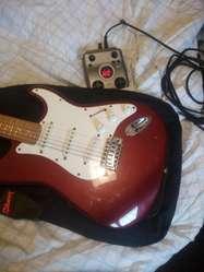 Guitarra Electrica Y Pedalera Multiefect