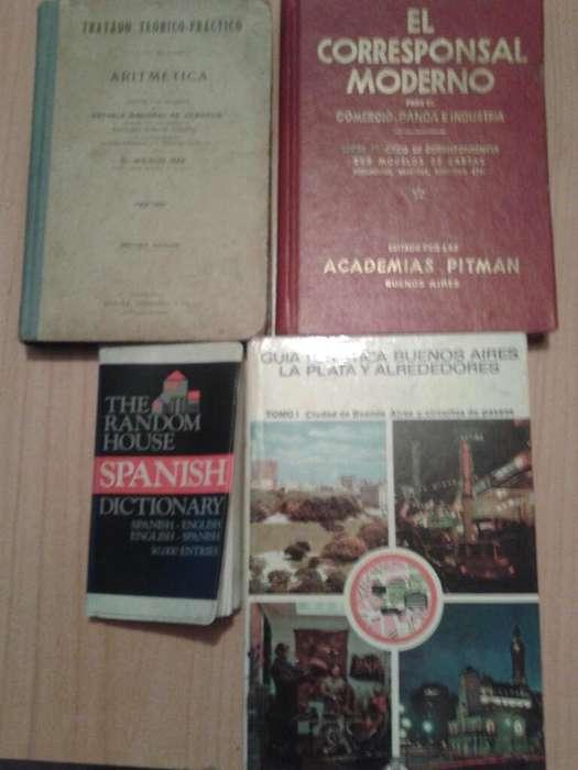 Lote de Cuatro Libros Vintage