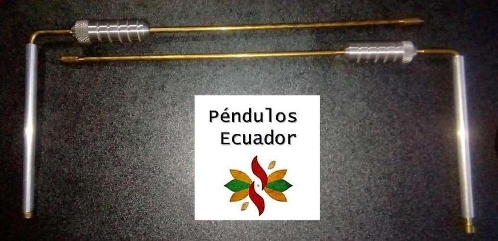 VARILLAS GUAQUERAS DE BRONCE ( CON TESTIGO )