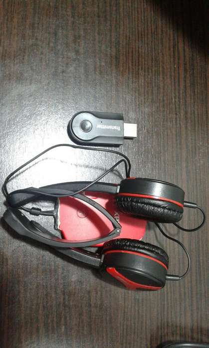 Audifos Bluetooth con Emisor