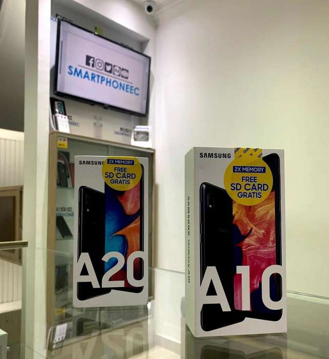 Samsung Galaxy A10 32GB / A20 32GB MicroSd Obsequio Garantia