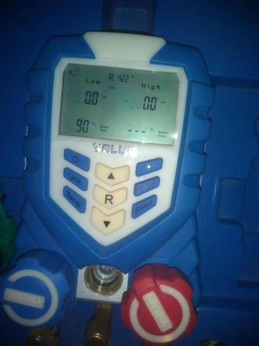 Manmetro digital value con accesorios
