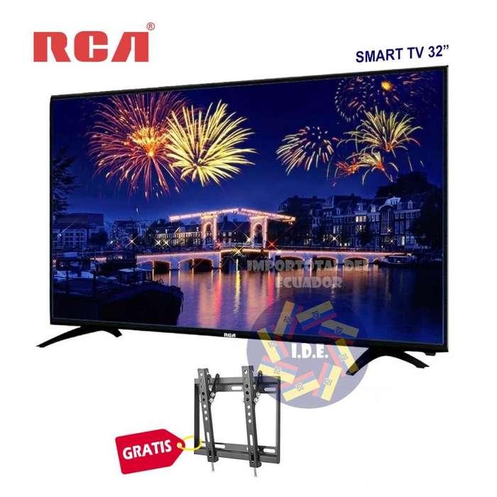Televisor led ''nuevo'' marca RCA 32 pulgadas Smart tv y Android mod. LED32HD662L-SMT / 2 años garantía mas soporte
