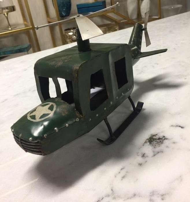 Adorno Helicoptero Importado